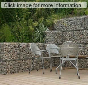 Garden Wall Ideas retaining sleeper wallsdd before and after pix of creative outdoor living Walljpg Gabion Terraced Retaining_walls