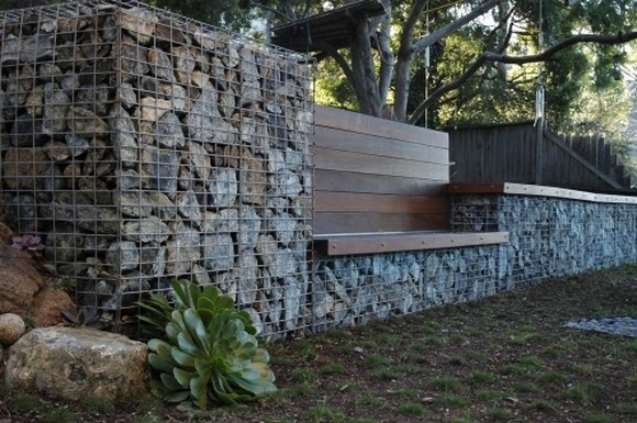Gabion Retaining Wall Construction 4 | Gabion1 Usa