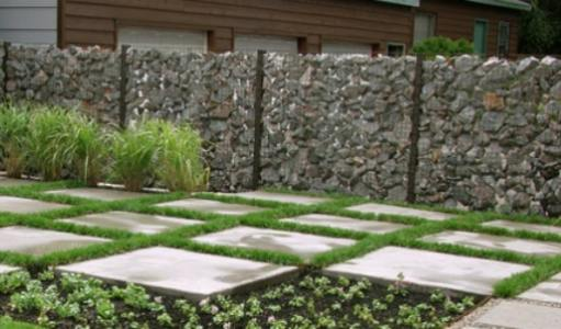 Simple Garden Fence Ideas garden fence simple garden fence concept Gabion Stone Fencing Ideas